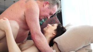 Imagen Old and Young Porn – Sweet innocent girlfriend gets fucked by grandpa